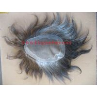 Top grade human hair replacement for man thumbnail image