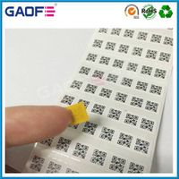 PCB high temperatures stickers, Polyimide film pressure sensitive label, adhesive Barcode Labeling