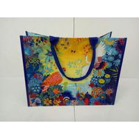 OEM fashion pp woven shopping bag