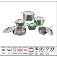 Top selling stainless steel golden dinner set
