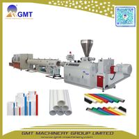 PE63-800 PP Water/Gas-Supply Plastic Pipe/Tube Making Machine Extruder