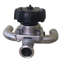 u type Diaphragm valve, tee diaphragm valve,satinless steel u type diaphragm valve,DN25 316L,DN10-D