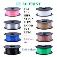 3D Printer Filament ABS PLA 1.75mm 3mm Printing Supplier Multi Colors thumbnail image