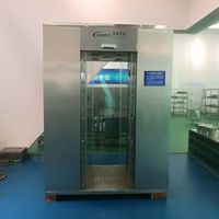 Automatic Sliding Door Air Shower, Automatic Sensor Door Air Shower Used in Electronic Plant thumbnail image