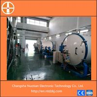 Refractory materials sintering graphitizing furnace