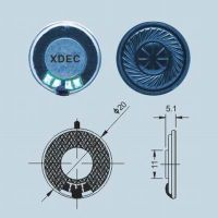 20mm arabesquitic diaphragm mylar speaker 8ohm 0.5W