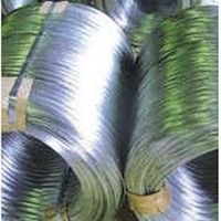 Hot dipped galvanized patented wire for further redrawing