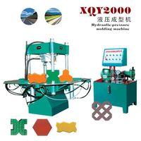 Hydraulic type XQY2000 cement brick making machine
