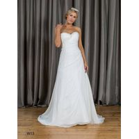 Aline Sweetheart Beading Chiffon Wedding Dress W13
