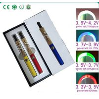 colored smoke Cigarette - 2 shiny color pattern & 4stage LED display to easy check residual E cigare
