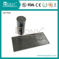 Heat-Resistance ESD PEEK Plastic Sheet Customized PEEK Plastic Plate (Antistatic PEEK)
