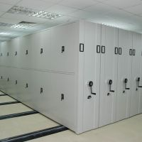 China supplies mobile steel compact rack//Mobile compactoer with cheap price thumbnail image