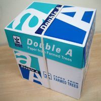 Double A and Xerox Premium 100% Wood Pulp A4 Copy Paper thumbnail image