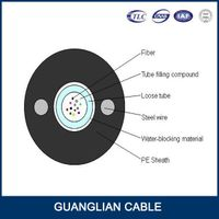 4core 8 core 12 core fiber cable outdoor GYXTW