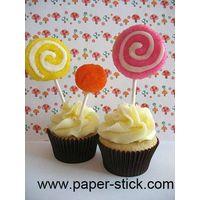 cake pop stick, paper stick, cake pop paper stick
