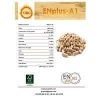 Wood pellets ENplus-A1, Ash-0,51%, 93 EUR
