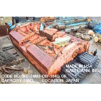 CODE NO. WT-24M3-DB-164G (CAPACITY 24M3) DREDGER BUCKET