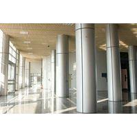 Interior and Exterior Aluminum Cladding of Column Covering