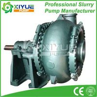 chrome alloy gravel pump for river sand suction