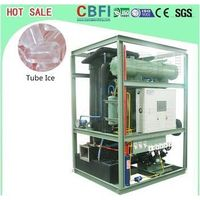 with PLC control system Tube Ice Maker Machine Freon system