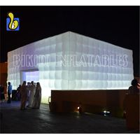 White Cube Double For Event, Party, Wedding K5078-3 thumbnail image