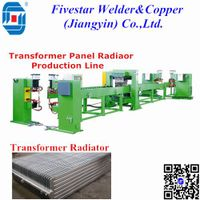 Automatic Transformer Panel Radiator Welding Machine Production Line