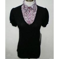 Lady Fashion Summer Sweater with Printing Shirt