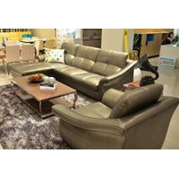 Italian leather sofa for living room J855