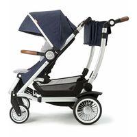 Austlen Entourage Expandable Stroller - Navy - Brand