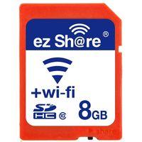 new ez-Share WiFi flash momery card 8GB Class 1 0 camera wireless SD card 2nd generation