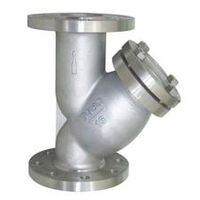 Wire port filter,stainless steel wire port fitter,Y type stainless steel grease filter,Thread fitte thumbnail image
