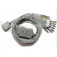 Nihon Kohden one-Piece Series EKG Cable AHA needle type