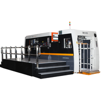 Automatic Die-cutting Machine with Top Feeder and Stripping Station