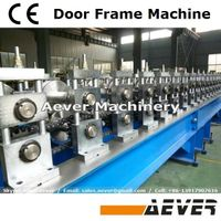 CE standard advanced metal door jamb frame roller former machine