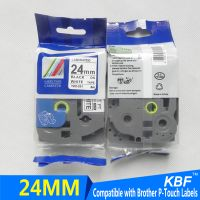 Compatible Brother P-touch TZe Black On White 24mm Label Tape TZe-251 thumbnail image