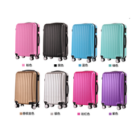 Fashionable universal wheels rolling suitcase trolley luggage case for travelling thumbnail image