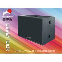 "double 18"" pro audio speaker dj equipment powerful subwoofer PER-5028 thumbnail image"