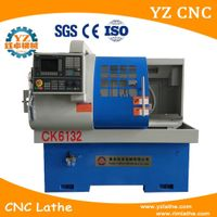 CK6132 High quality low price horizontal small cnc lathe machine for metal turning thumbnail image