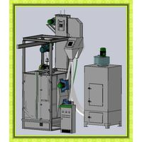 Single/Double Hook Shot Blasting Machine