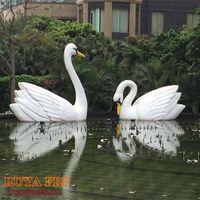 Swan sculpture,animal park decoration thumbnail image