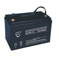 12V 100ah Rechargeable Lead Acid Solar UPS Battery