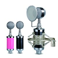high sensitive 192k 24bit wired podcasting condenser microphone
