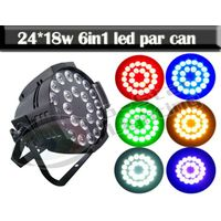 24x18w RGBWA+UV 6IN1 LED Par Can Light