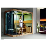 Shower Wet & Dry Steam Sauna Room