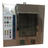 Horizontal and Vertical Flammability Tester,Plastic Combustion Testing Chamber,UL94,IEC60695