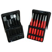 6pcs Chise Metal Case & Sets