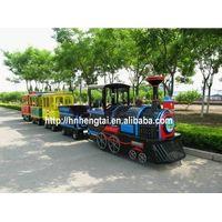 outdoor amusement mini electric trackless train