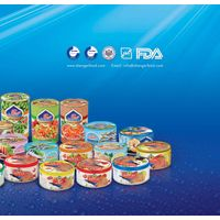 canned tuna and processed food