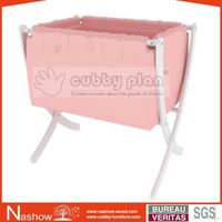 Cubby Plan LMBN-001 High Quality Wooden Baby Cradle