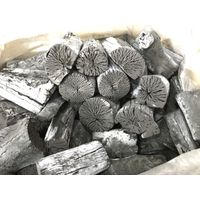 Natural hardwood white charcoal for BBQ